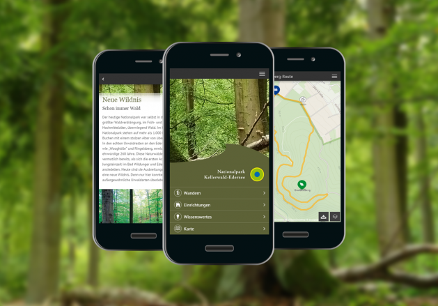 Nationalpark-App Kellerwald